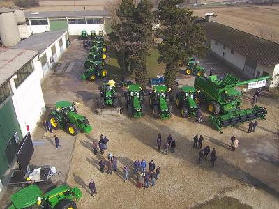 Weekend del Secolo John Deere